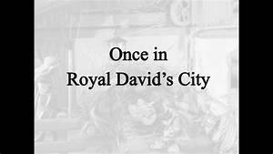 Once in Royal David's City (Hymn Charts with Lyrics ...