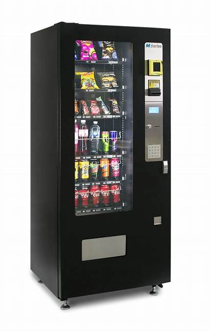 Vending Machines Machine Round M3000 Side