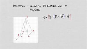 Volumen Einer Pyramide Berechnen : vokabel abitur vektorrechnung volumen vierseitige pyramide ~ Themetempest.com Abrechnung
