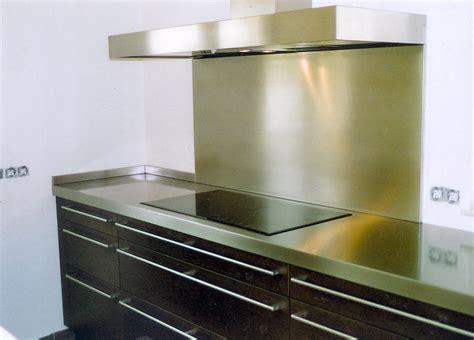 cr馘ence de cuisine autocollante credence inox a coller maison design sphena com