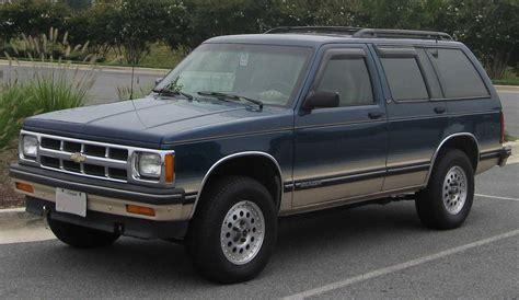 Chevrolet S10 Blazer Wikipedia