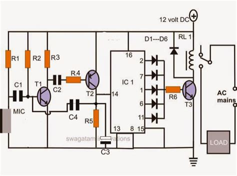 Make Simple Electronic Clap Switch Circuit