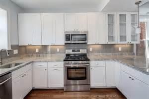 kitchen backsplash with cabinets kitchen tile backsplash pictures white cabinets home design ideas