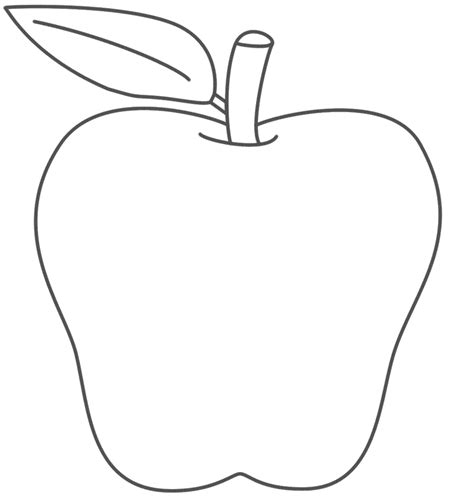 Apple Template Use Blank Apple Templates For Several Activities Trace