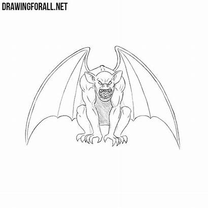 Gargoyle Draw Drawing Drawingforall Gothic Architecture