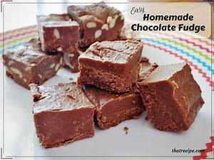 Oh So Easy Chocolate Fudge: Cooks in 5 Minutes!