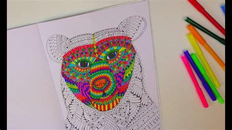 speed drawing  kathi zeigt euch ihr malbuch ausmalen