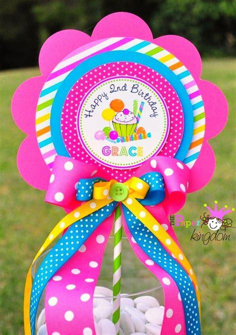 candyland centerpiece deluxe birthday centerpiece