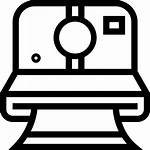 Polaroid Camera Clipart Transparent Icon Streamline Kamera