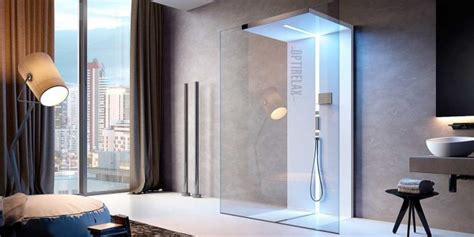 walk in dusche aus glas optirelax