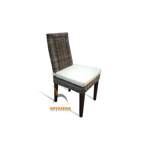 kubu dining chair cushion kbc 009 cancun dining chair