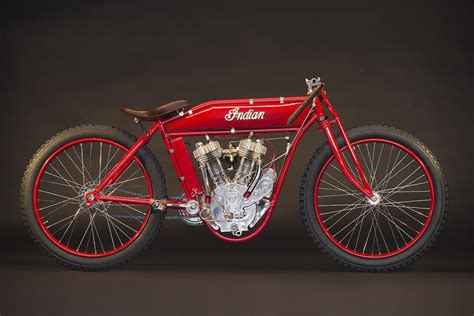 1918 Indian Twin Board Track Racer Hiconsumption