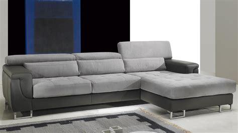 bureau solde canapé d 39 angle droit cuir microfibre gris pas cher