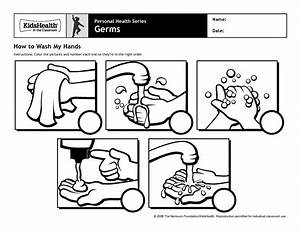 How to wash my hands worksheet for kids | Personal Hygiene ...