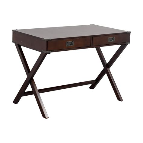 used writing desk 74 mackin mackin two drawer writing desk tables