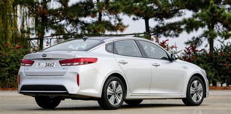 kia optima hybrid revealed plug  hybrid detailed