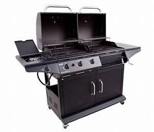 Barbecue Gaz Et Charbon : fonte charbon de gaz 2 in 1combo combinaison hybird ~ Dailycaller-alerts.com Idées de Décoration
