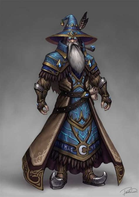 fantasy dnd concept wizards wizard smite character merlin artstation male sorcerer mage mages magic dungeons dragons rpg sorcerers characters imgur