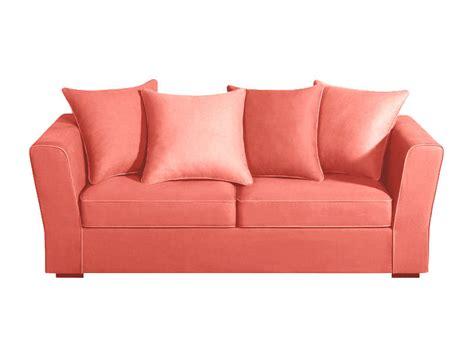 vente canap pas cher canape sofa en tissu corail maty canapé achatdesign