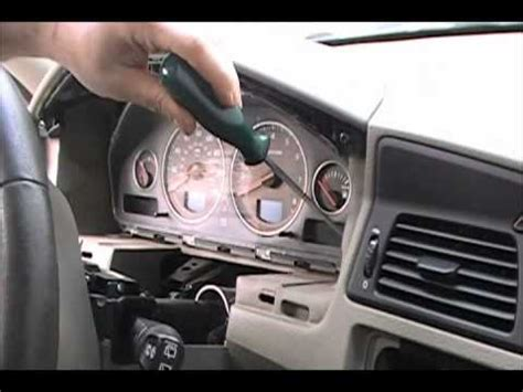 how petrol cars work 2006 volvo s60 electronic valve timing how to remove your volvo v70 s60 s80 speedometer dim youtube