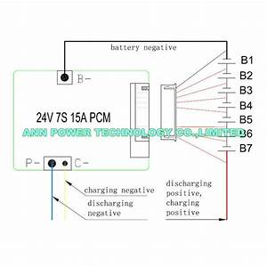 7s 24v 15a Bms Used For 24v Li Ion Battery Pack