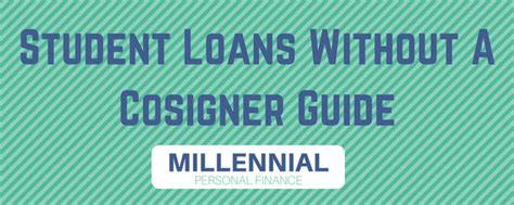 student loans  cosigners