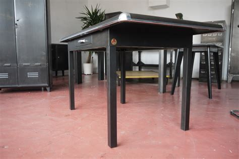 le bureau industrielle table atelier vintage mobilier industriel lyon