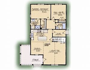 Eagle's Nest A Home Plan - Earnhardt Collection™ by