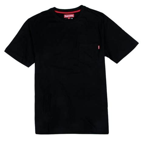 supreme t shirt supreme quot nyc pocket quot t shirt black