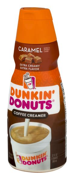 Take your morning up a notch with the extra creamy, extra delicious taste of dunkin' donuts coffee creamer. Dunkin' Donuts Caramel Extra Extra Coffee Creamer | Hy-Vee Aisles Online Grocery Shopping