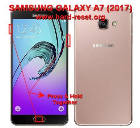 how to easily master format samsung galaxy a7 2017 with safety reset reset