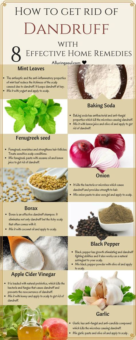 Kitchen Hair Remedies by How To Get Rid Of Dandruff 8 Effective Home Remedies