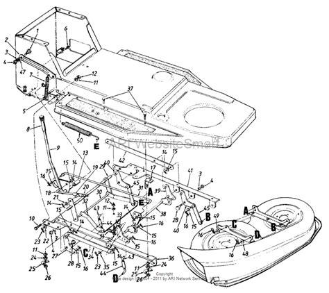 46 Inch Mtd Mower Deck Belt Diagram by Mtd Mower Deck Diagram Mtd Free Engine Image For