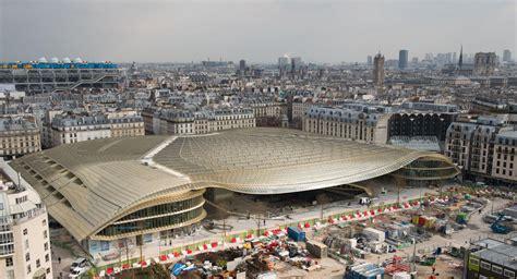 Construction De La Canopée Des Halles, Paris (75) Vinci