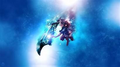 Riven League Legends Aynoe Computer Fan Underwater