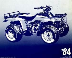 1984 Honda Trx200 Service Repair Manual