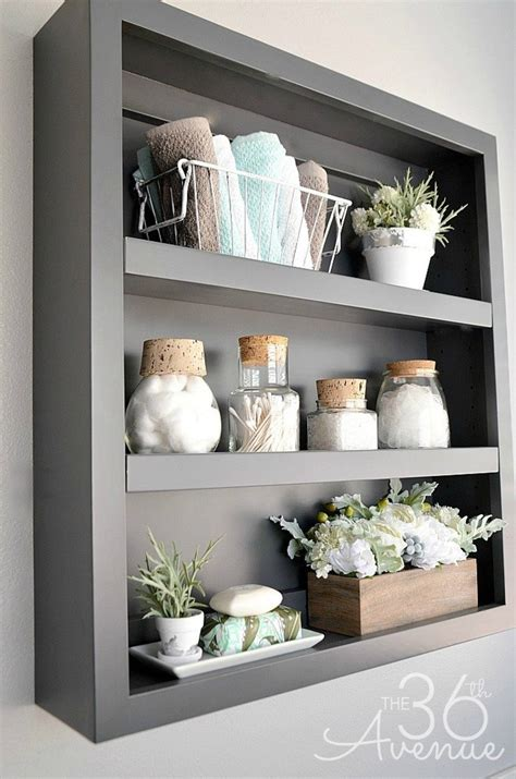 bathroom shelf decorating ideas 25 best bathroom decor ideas and designs for 2017