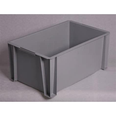 bac rangement leroy merlin bac de manutention stacking box plastique l 55 x p 35 x h 24 5 cm leroy merlin