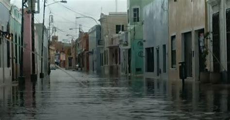 cristobal exceeds isidores rainfall  yucatan times