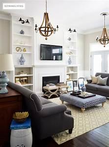 Citrineliving, Living, Room, Bookshelves