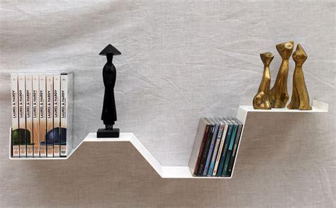 store cuisine moderne etagère murale quot zig quot étagère murale design blanche métal salon