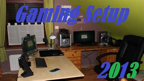 chambre de gamer gaming setup 2013 ma config et ma chambre de gamer