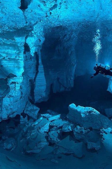 landscapes cave russia underwater wallpaper allwallpaper