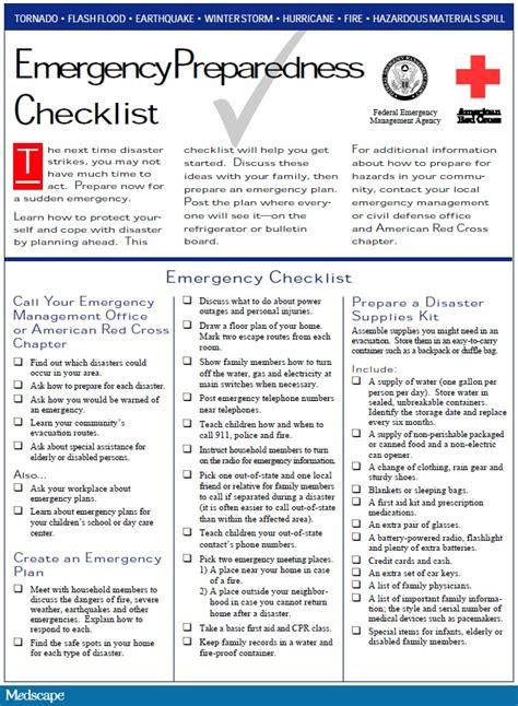 Emergency Response Checklist Template by Osha Drill Checklist Related Keywords Osha