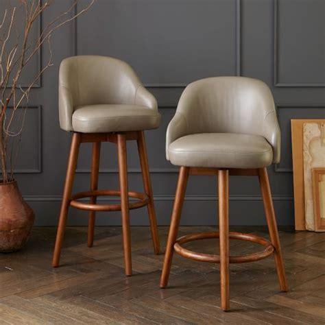 shapely swivel seat inspired  mid century design