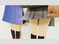 月が変わる度にスカートをめくって距離を縮めていく「スカートめくりカレンダー 2014」、そして「スカートめくりフセン