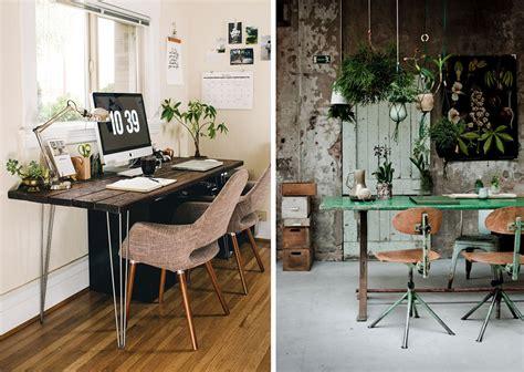 plante pour bureau la fabrique à déco aménager espace de travail à la maison