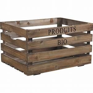 Caisse En Bois : caisse en bois cra4120 vannerie pack ~ Nature-et-papiers.com Idées de Décoration