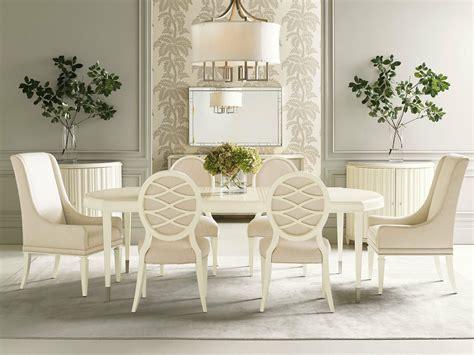 corbin pcs modern dining room set  rectangular
