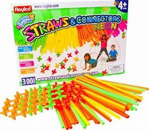 Roylco Straws & Connectors Neon